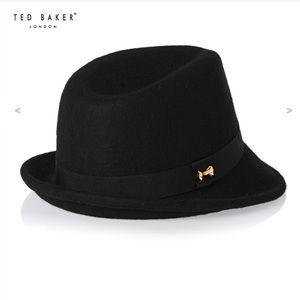 a9ad84a5de1 Ted Baker 100% Wool Fedora Hat